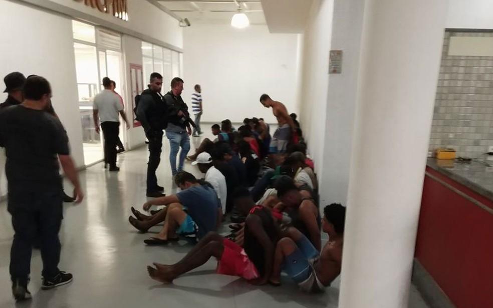 Histórico de suspeitos detidos será checado na Cidade da Polícia (Foto: Divulgação Polícia Civil)