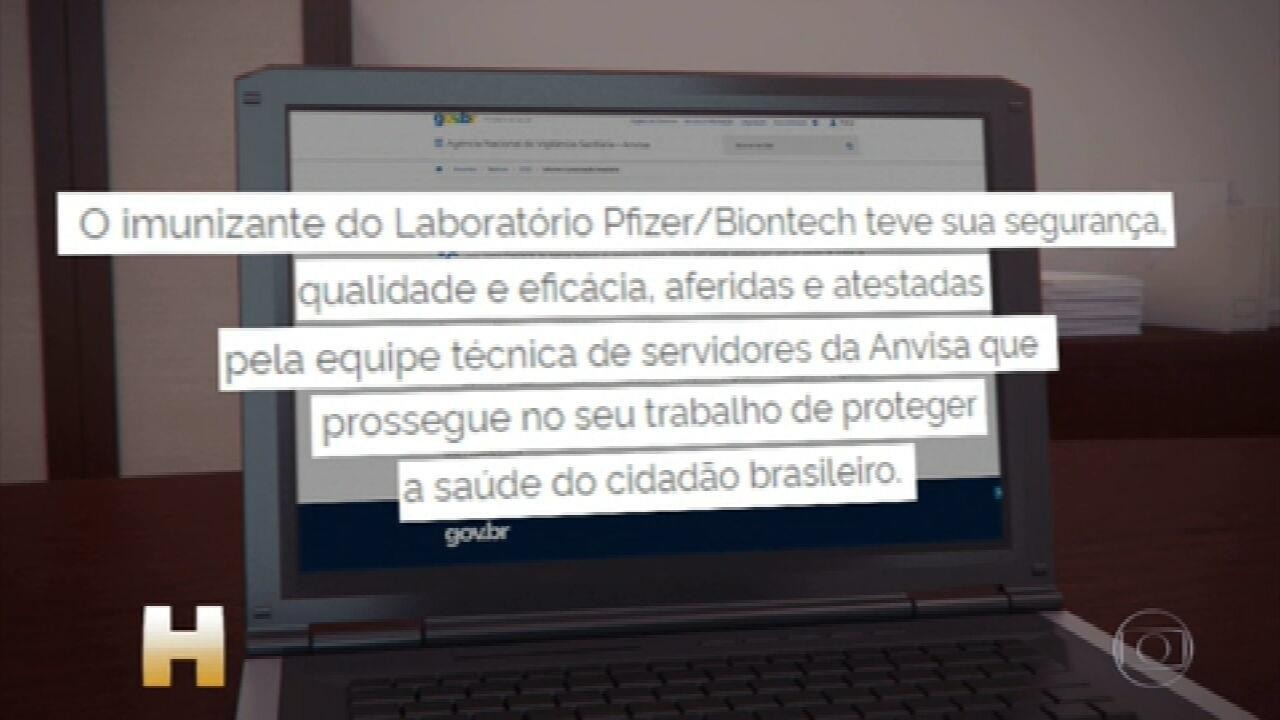 Vacina da Pfizer é a 1ª contra a Covid a obter registro definitivo no Brasil