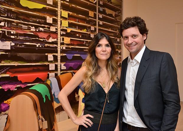 Patricia e Pedro Jereissati (Foto: João Sal/Divulgação Hermès  )