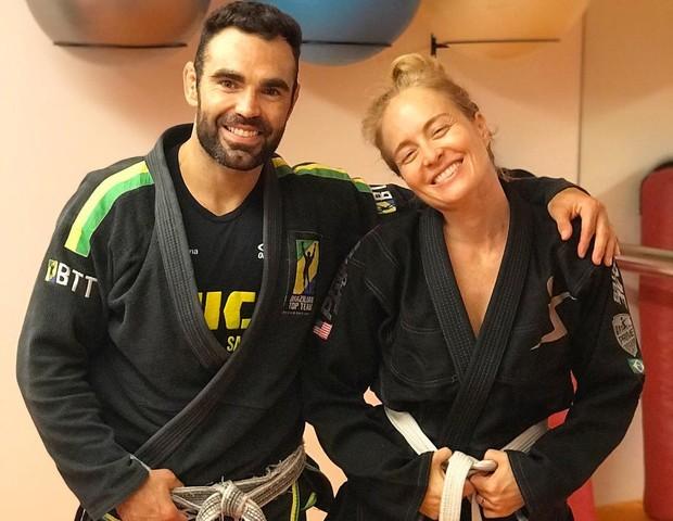 Chicoa Salgado e Angélica (Foto: Reprodução Instagram)