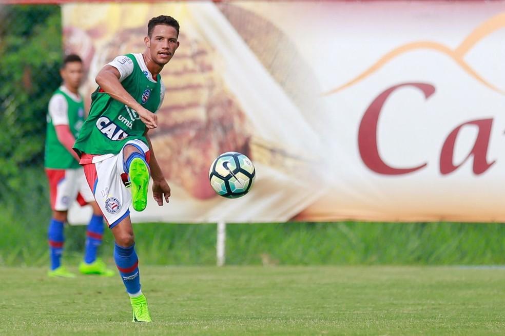 Felipe é uma das novidades na lista de relacionados (Foto: Felipe Oliveira / Divulgação / EC Bahia)