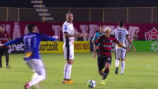Melhores momentos de Vitória 3 x 0 Bragantino pela terceira fase da Copa do Brasil