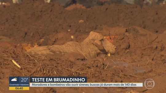 Defesa Civil vai testar sirenes em Brumadinho