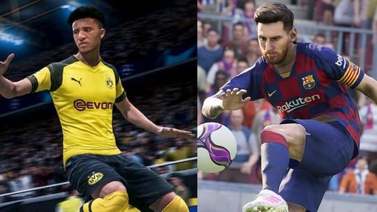 FIFA 19 vs PES 2019: veja números dos jogos no competitivo