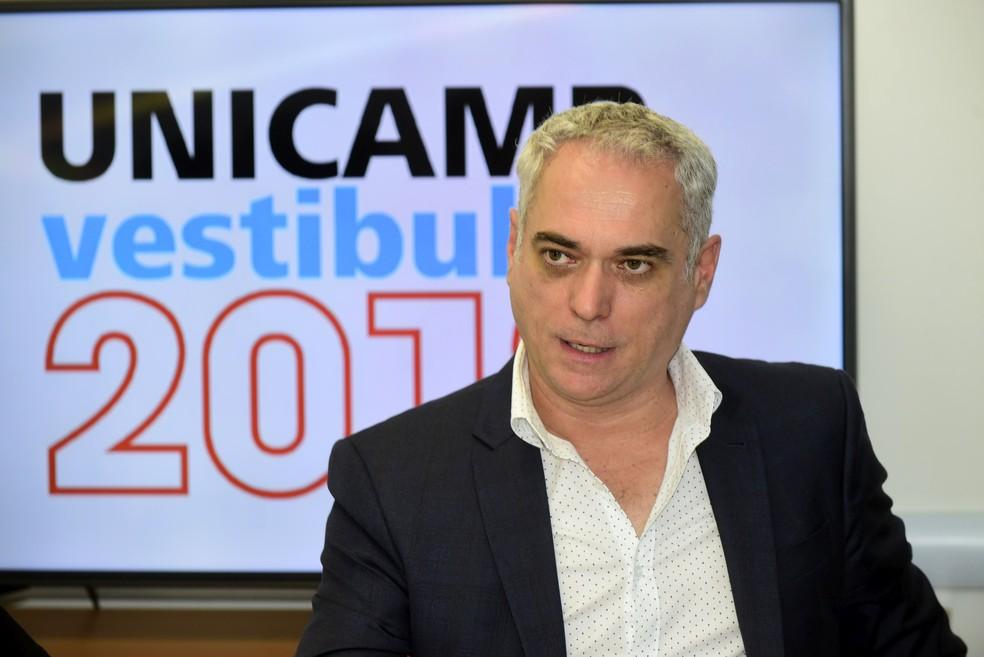O coordenador executivo da Comvest, José Alves de Freitas Neto (Foto: Antonio Scarpinetti / Unicamp)