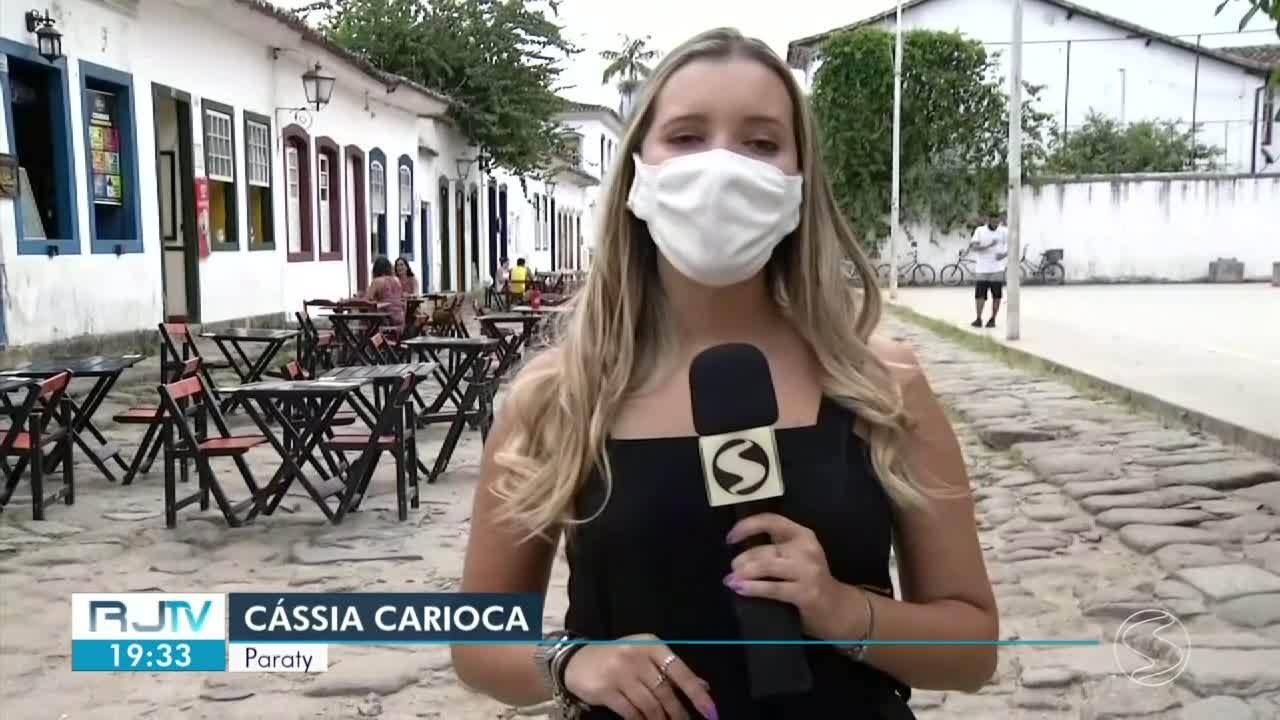 Restaurantes se readaptam às restrições causadas pela pandemia em Paraty