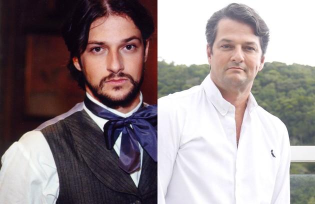 Escalado para 'O Sétimo Guardião', Marcelo Serrado viveu Mariano, jovem médico e filho de Xavier (Nelson Dantas) (Foto: TV Globo)