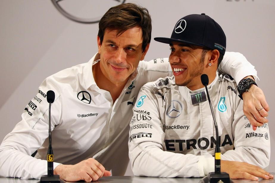 Chefe da Mercedes admite que um dia pode perder Lewis Hamilton para a Ferrari