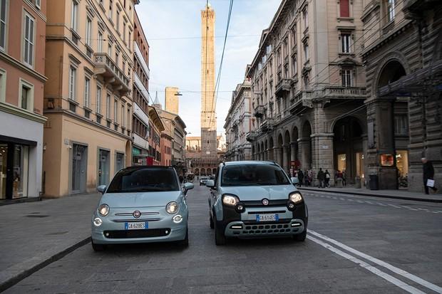 Fiat 500 e Fiat Panda Hybrid serão os primeiros a receber o sistema D-Fence da Mopar (Foto: Divulgação)