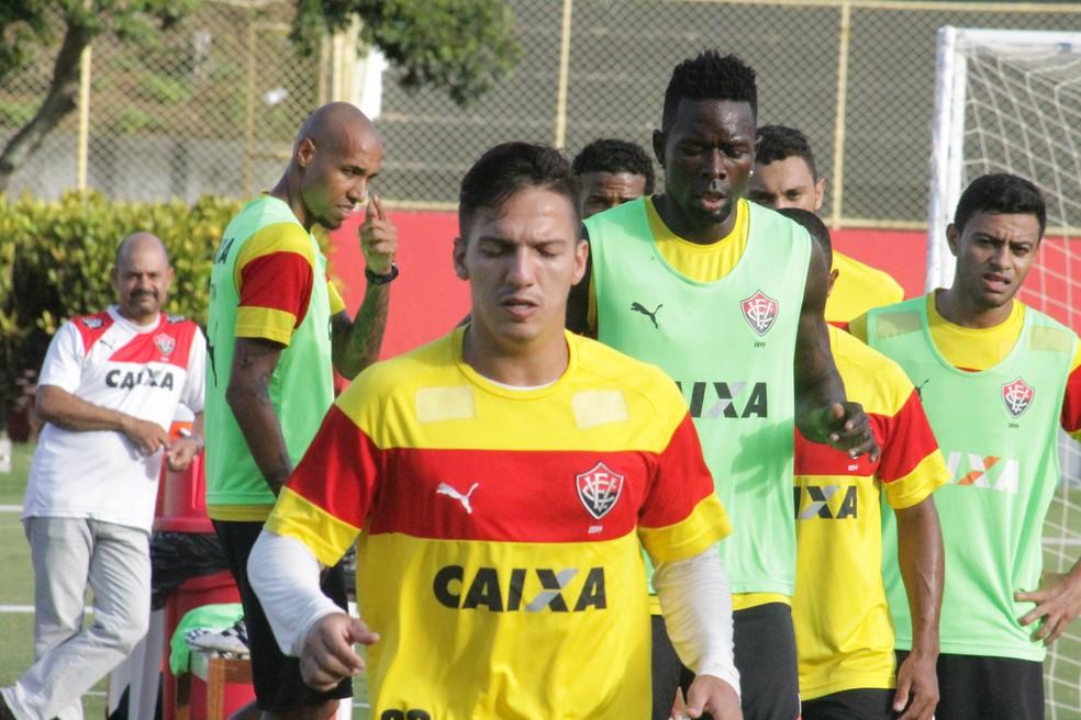 Euller foi jogador de Argel Fucks no Vitória — Foto: Maurícia da Matta / EC Vitória / Divulgação