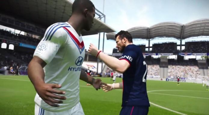 Fifa 15 também terá desentendimento entre jogadores (Foto: Divulgação)