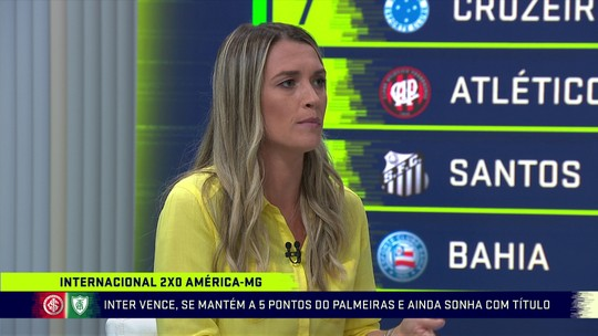 """Ana Thais elogia trabalho de Odair Hellmann no Internacional: """"Com meio limão fez uma limonada"""""""
