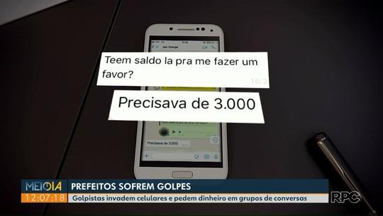 Golpistas usam aplicativo de mensagens para pedir dinheiro em nome de prefeitos