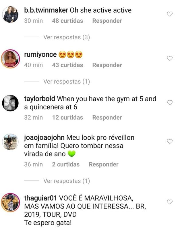 Beyoncé vira piada por vestido-alface (Foto: Instagram/Reprodução)