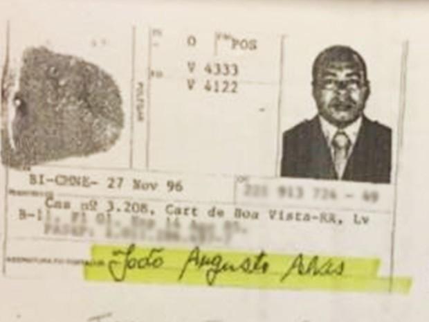 Sargento do Exército João Augusto Alves  (Foto: Polícia Civil/Divulgação)