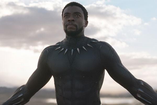 Chadwick Boseman como o herói Pantera Negra (Foto: Reprodução)