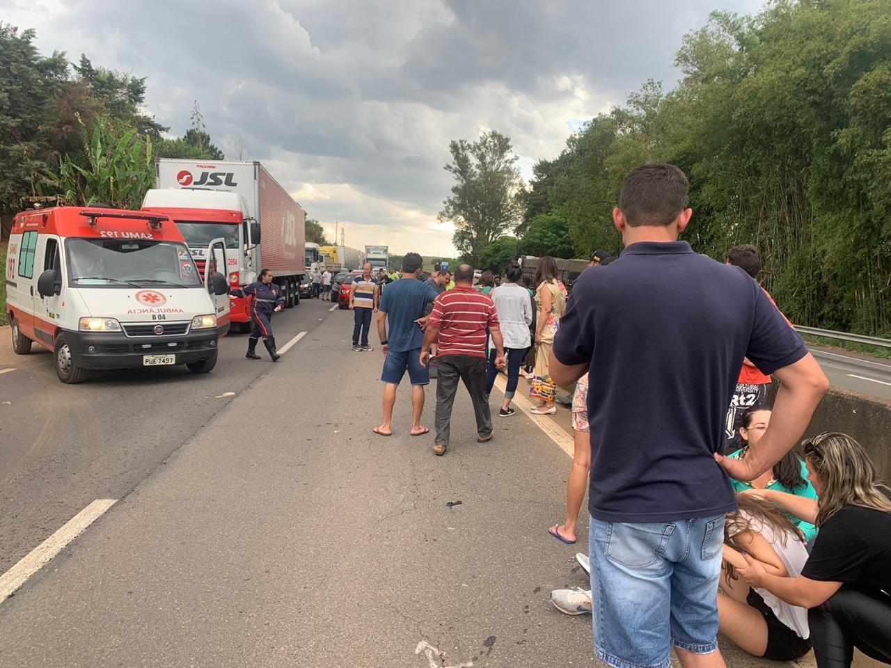 Menina de 10 anos morre em acidente na Rodovia Fernão Dias, em Pouso Alegre, MG - Notícias - Plantão Diário