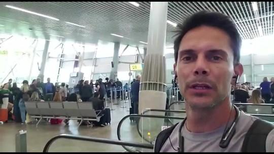 Paratleta mineiro espera mais de 18h em aeroporto por causa de protestos no Chile