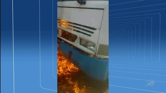 Ônibus, veículos públicos e teatro são atacados em Juazeiro do Norte, no CE; cinco suspeitos são presos