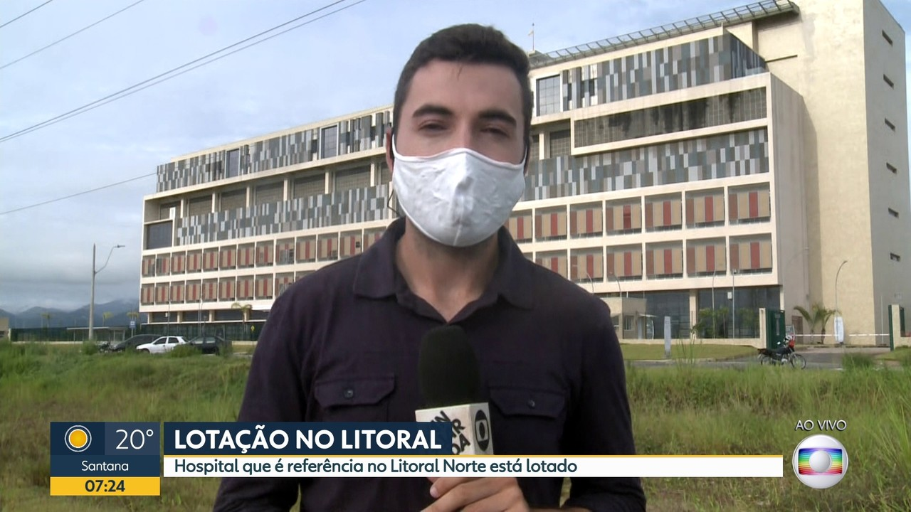 Hospital do Litoral Norte está lotado