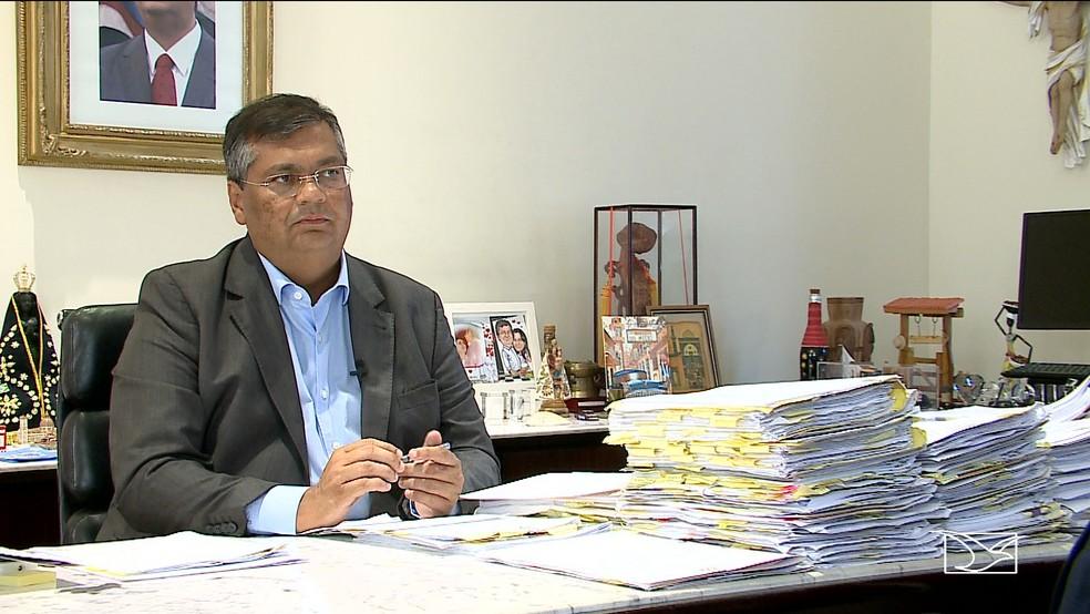 Flávio Dino, governador do Maranhão — Foto: Reprodução/TV Mirante