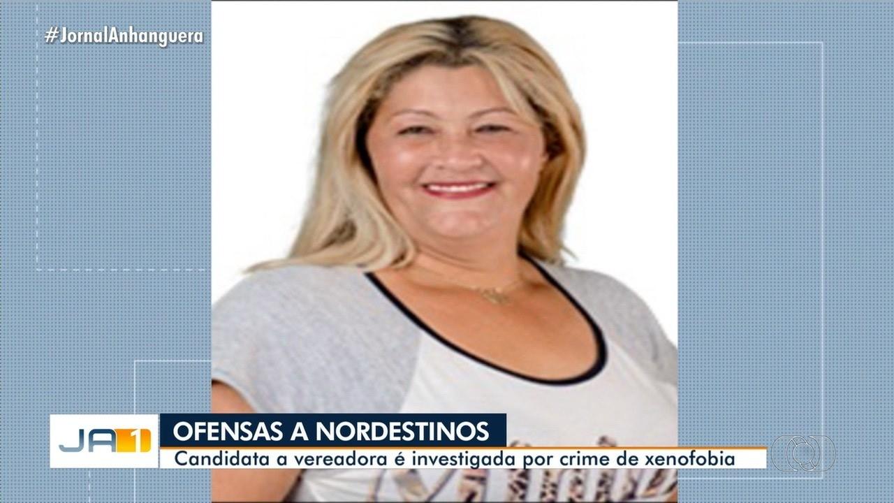 Candidata a vereadora é investigada em Goiás por ofender nordestinos , em Caldas Novas