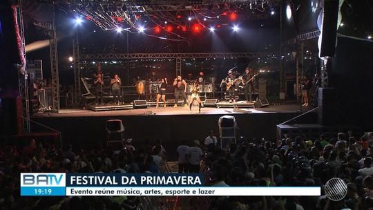 Festival da Primavera 2019 terá Jammil, Lore Improta, Diamba, Baco e outros