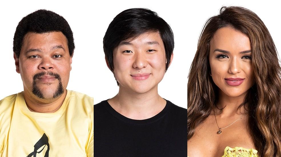 Paredão BBB20: Quem você quer eliminar? Babu, Pyong ou Rafa?