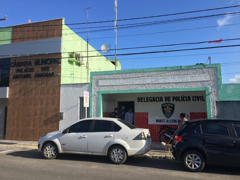 Caso da morte de Josierica Rocha Alves foi investigado pela Delegacia de Monte Alegre — Foto: Heloísa Guimarães/Inter TV Cabugi