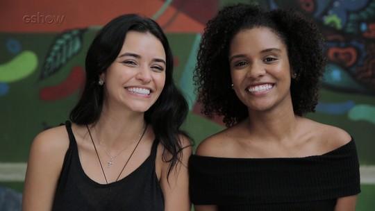 'Viva a Diferença': Heslaine Vieira e Talita Younan declamam poema