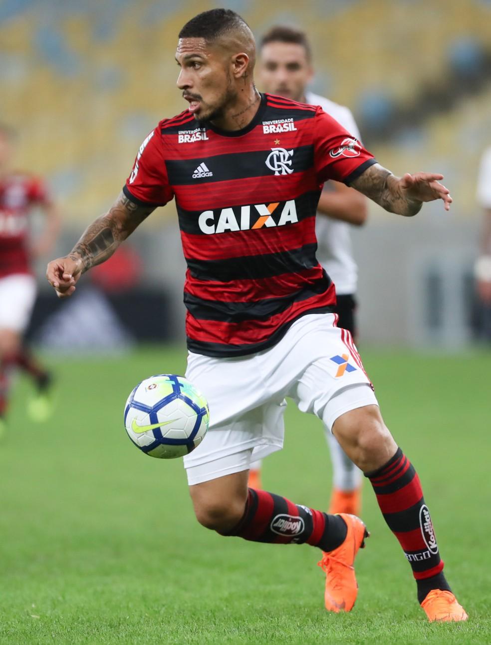 Guerrero entrou no segundo tempo contra o Sport: a última aparição (Foto: Gilvan de Souza/Flamengo)