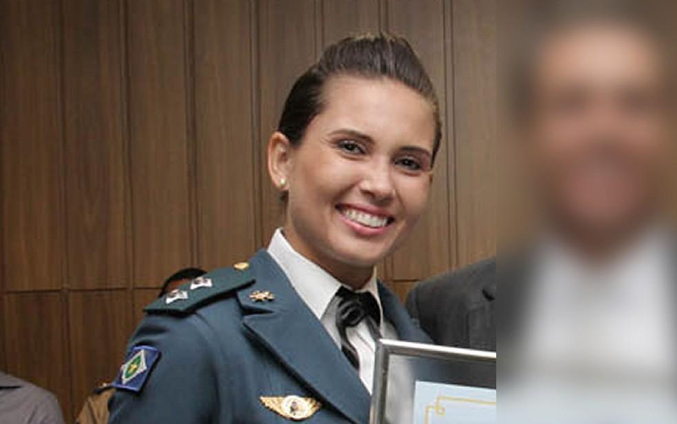 Izadora Ledur era instrutora de curso dos bombeiros em Cuiabá — Foto: Câmara Municipal de Barra do Garças/Reprodução