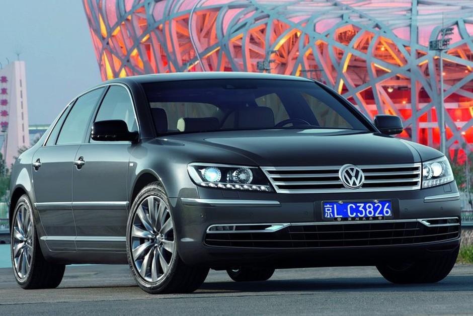 Volkswagen Phaeton 2011 (Foto: Divulgação)