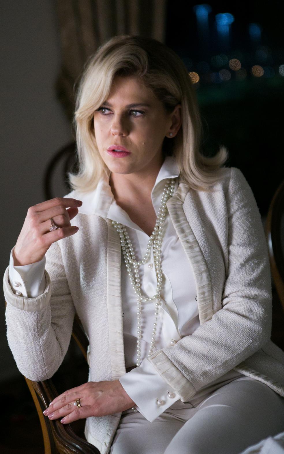 Tida como a melhor amiga de Elizabeth, ela se tornará o braço direito de Natanael na missão de acabar com o casamento de Henrique e Elizabeth.  (Foto: Raquel Cunha/TV Globo)