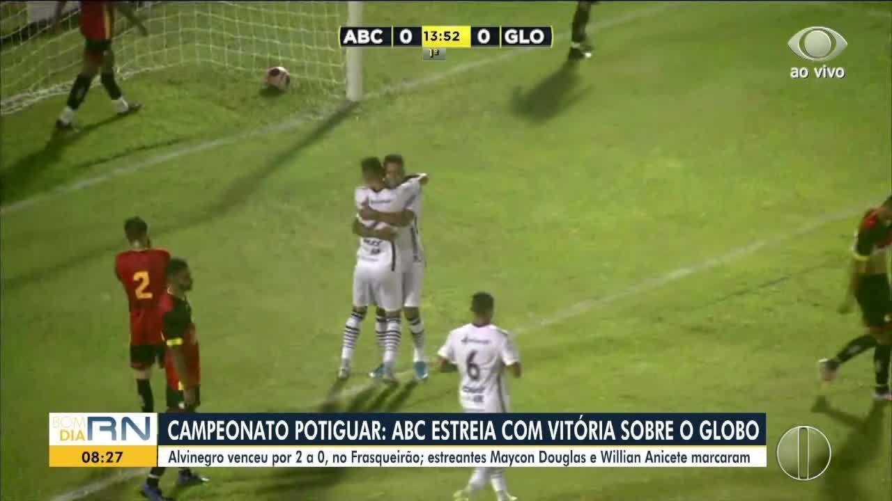 ABC 2 x 1 Globo FC (1ª rodada)