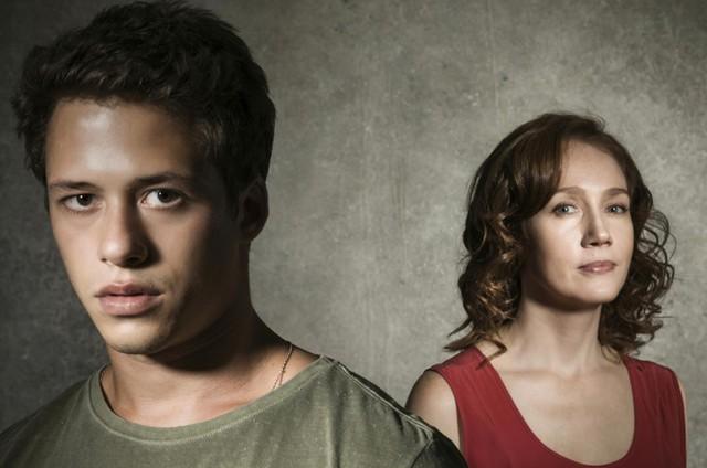 Giovanni Dopico e Camila Morgado (Foto: TV Globo/Sérgio Zalis)