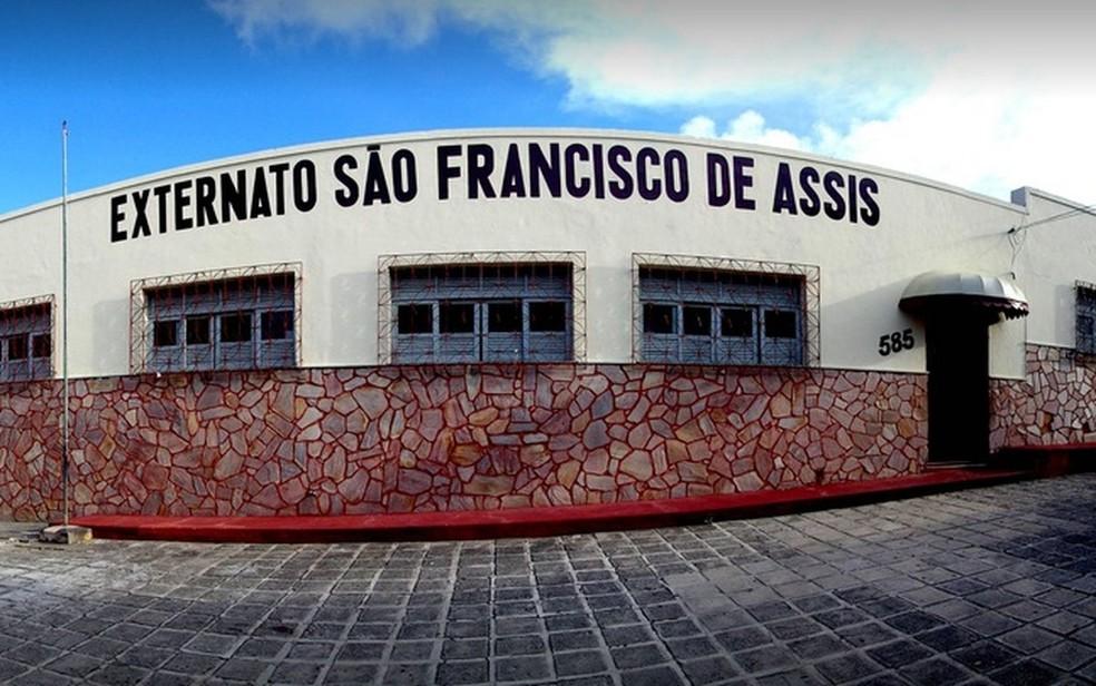 Extrenato São Francisco de Assis, em Aracaju (SE) — Foto: Arquivo da Instituição