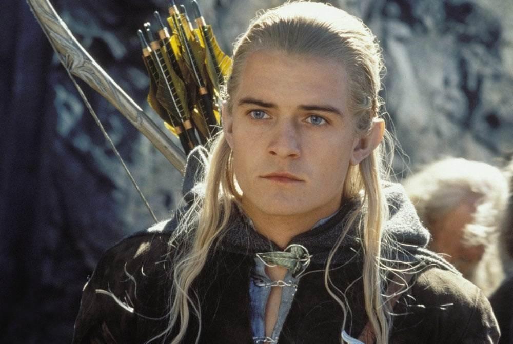 O ator Orlando Bloom no papel do elfo Legolas (Foto: Reprodução)
