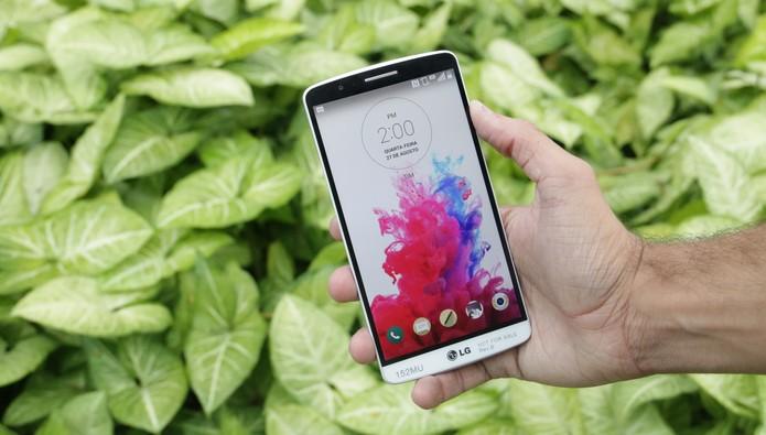 LG G3: foto para capa do review (Foto: Lucas Mendes/TechTudo)