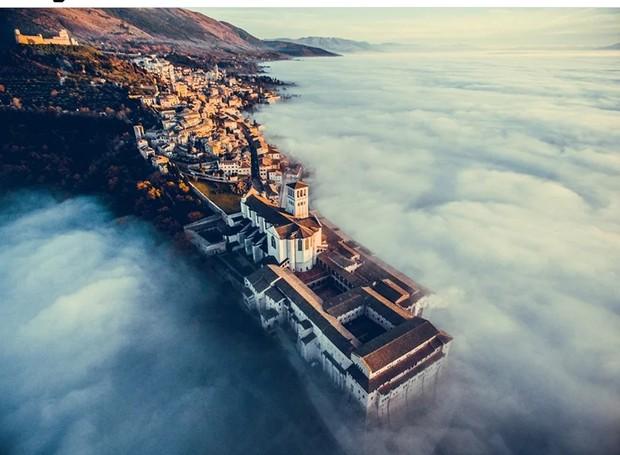Concurso internacional de fotografia com drone (Foto: Francesco Cattuto)