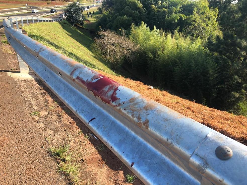 Criminoso morreu em confronto com a polícia em Botucatu — Foto: Acontece Botucatu/Divulgação