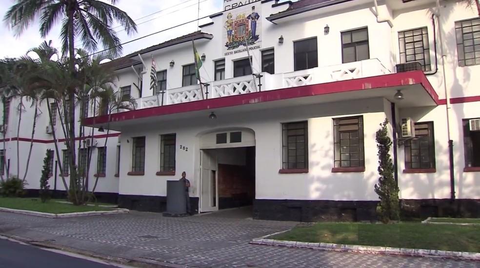 6º Comando do Policiamento do Interior é responsável pela PM na Baixada Santista (Foto: Reprodução / TV Tribuna)