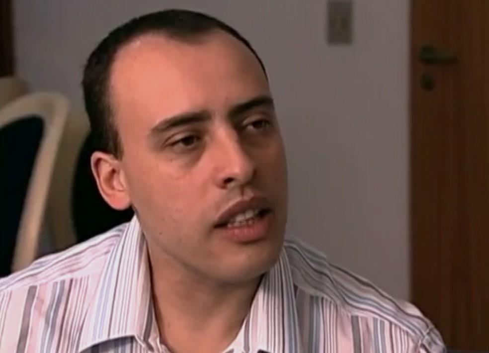 Alexandre Nardoni foi condenado pela morte da filha em 2008 — Foto: Reprodução/ TV Globo