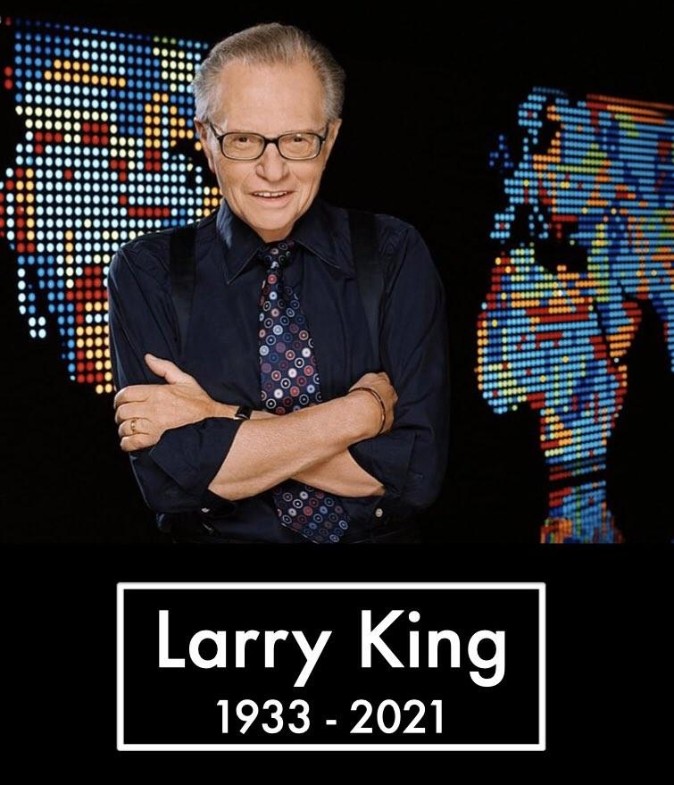 Larry King morre aos 87 anos; FOTOS
