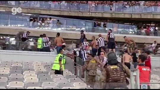 Cruzeiro x Atlético-MG: Polícia Militar comenta incidentes no clássico e volta a cogitar torcida única