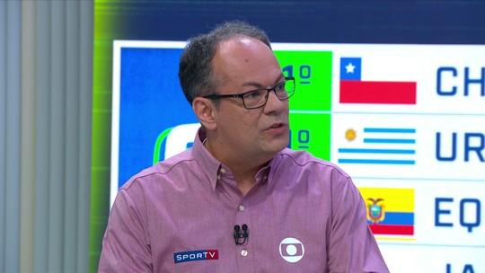 """Vilaron sente falta de referência em campo: """"Hoje o Brasil teve 11 coadjuvantes"""""""