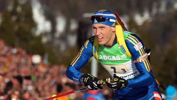 O campeão olímpico Bjorn Ferry ficou conhecido por não voar por causa das mudanças climáticas (Foto: Getty Images)