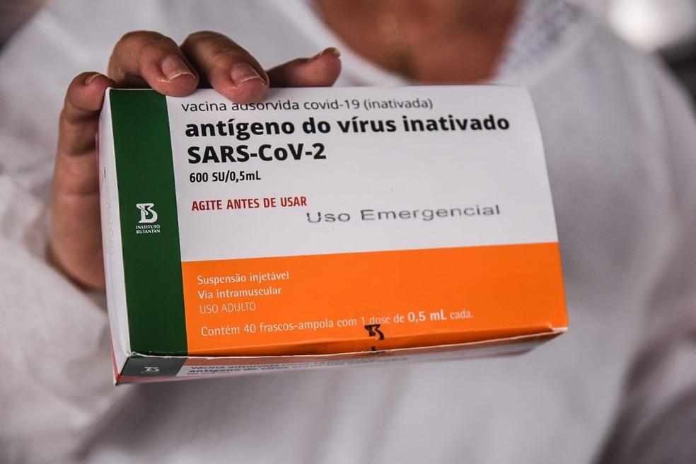 Vacina contra Covid em Rondônia — Foto: Armando Junior/Rede Amazônica