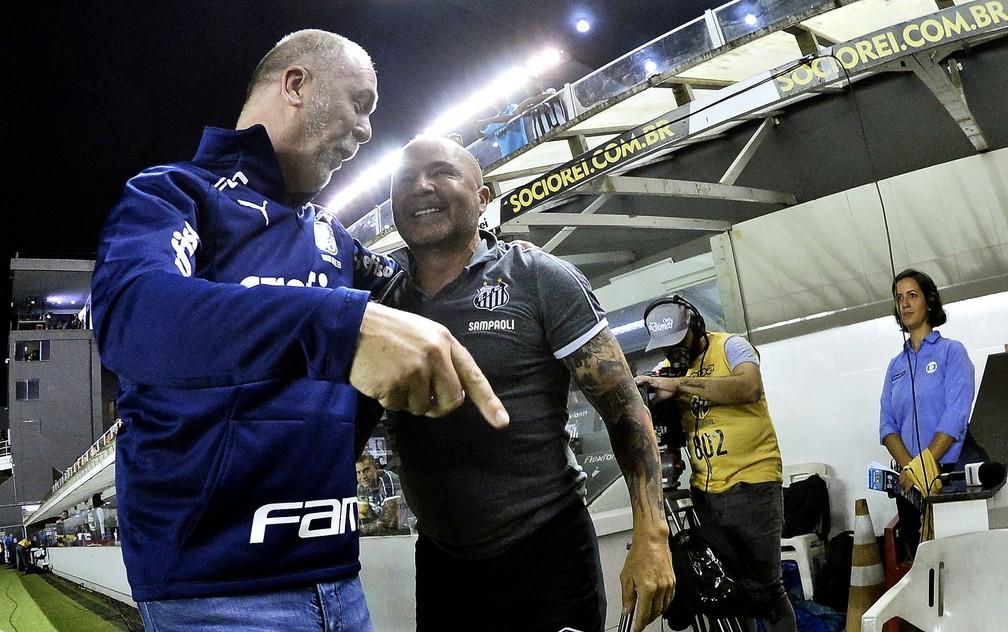 Jorge Sampaoli pode ser o substituto de Mano Menezes no Palmeiras — Foto: Marcos Ribolli
