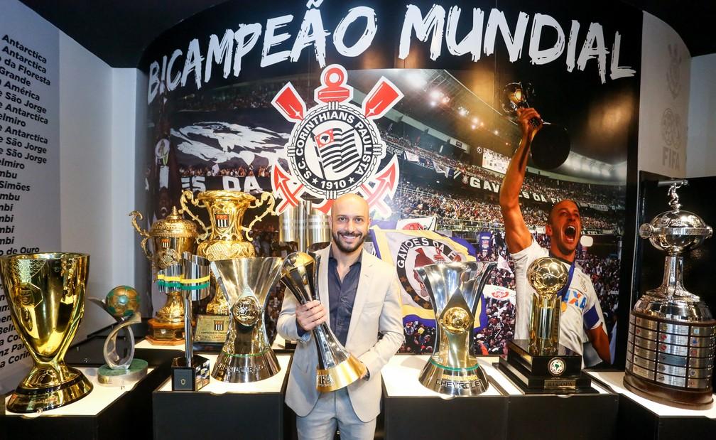 Alessandro Nunes é o novo gerente de futebol do Corinthians  — Foto: Rodrigo Coca/Ag.Corinthians